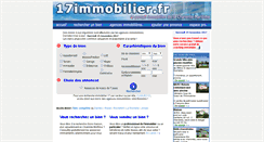 Preview of 17immobilier.fr